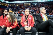 Fatih Terim Fenerbahçe tezahüratını  duyunca ayaklandı