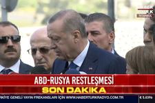 Erdoğan'dan flaş sözler: Gerilimde hava yumuşadı