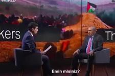 TRT sunucusu sordu İsrail Büyükelçisinin zor anları