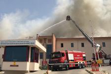 Bursa'da hastane yangını!