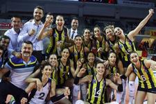 Fenerbahçe Galatasaray'a set vermedi