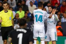 Real Madrid kazandı üçüncü sıraya yükseldi