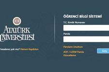 AÖF sınav soruları erişim sayfası e kampus sayfası girişi