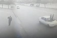 Vali'ye selam veren polis kendini hastanede buldu
