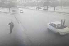 Vali'ye selam veren polis hayatının şokunu yaşadı!