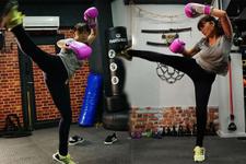 Nurgül Yeşilçay forma girmek için Kick Boks'a başladı!