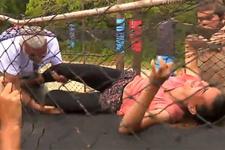 Survivor'da şok sakatlık: Merve Aydın acı içinde yerde kaldı!