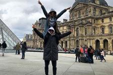 İbrahim Çelikkol ve Mihre Çelikkol Paris'te aşk tazelediler