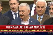 Başbakan Yıldırım'dan flaş seçim açıklaması!