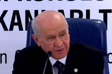 Bahçeli'den flaş İYİ Parti açıklaması