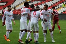Eskişehirspor Gaziantep'te zorlanmadı