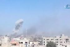 Suriye rejim güçleri Şam'ın güney kırsalını bombaladı: 6 ölü, 8 yaralı