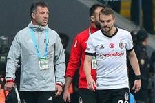 Beşiktaş'ta Caner Erkin sakatlandı