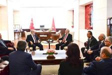 Ankara'da sıcak saatler! Karamollaoğlu CHP'de flaş açıklama