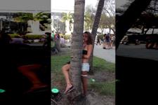 İçip içip sapıttı ağaçla fantazi yapınca bakın neler oldu