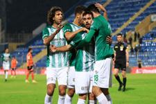 Bursaspor Konyaspor'a karşı üstün