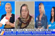 Müge Anlı DNA testi sonucu açıklandı Elmas Rehan hanımın kızı mı?