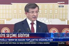 Davutoğlu'ndan bomba adaylık açıklaması