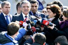 Abdullah Gül konuştu aday mı işte beklenen açıklama!