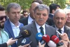 Abdullah Gül'den flaş açıklama aday olacak mı?