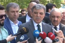 Abdullah Gül yakın çevresine demişki...