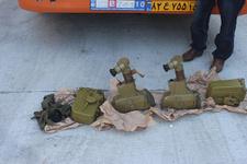 'Bebek bezi var' dedikleri TIR'dan antitank füzesi çıktı!