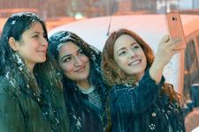 Nisan ayında kış Kars ve Erzurum'a geri geldi