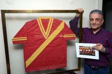Galatasaray'ın ilk Avrupa maçında giydiği forma!