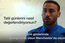 Cenk Tosun'dan genç futbolculara tavsiye