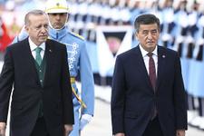 Kırgız lider Ceenbekov Beştepe'de