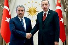 Cumhurbaşkanı Erdoğan, Destici ile görüşecek