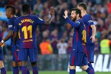 Şampiyon Barcelona şov yaptı