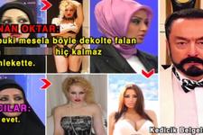 Adnan Oktar'dan başörtüsüyle ilgili skandal ses kaydı!