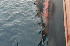 Yemen açıklarında Türk gemisinde büyük patlama