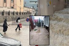 Aniden bastıran sağanak yağış 5 ilde etkili oldu!