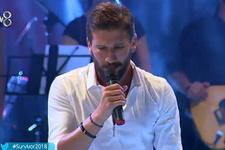 Adem Kılıçcı Survivor şarkı yarışmasına damga vurdu
