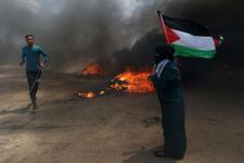 ABD Filistin'i ateşe verdi! Gösterilerde ölü sayısı artıyor...