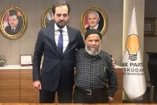 Sosyal medyayı sallayan dedeye AK Parti'den tam destek