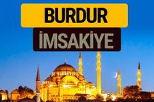 Burdur İmsakiye 2018 iftar sahur imsak vakti ezan saati