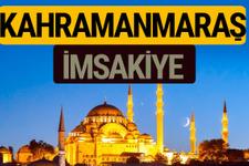 Kahramanmaraş İmsakiye 2018 iftar sahur imsak vakti ezan saati