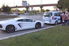Samsun'da polise lüks otomobil şikayeti