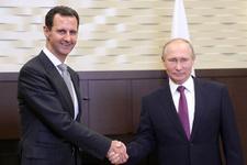 Soçi'de sürpriz Putin- Esad görüşmesi