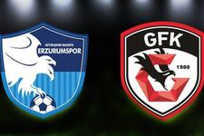 Erzurumspor - Gazişehir Gaziantep maçı ne zaman nerede saat kaçta?