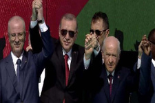 Büyük Kudüs mitingi sona erdi: Erdoğan'dan sert sözler!