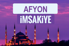 Afyon iftar saati sahur imsak vakti-2018 Afyon İmsakiyesi