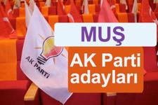 AKP Muş milletvekili adayları 2018 AK Parti listesi