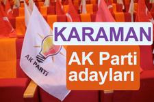 AKP Karaman milletvekili adayları 2018 AK Parti listesi