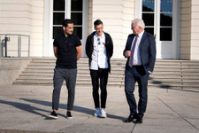 Mesut Özil ile İlkay Gündoğan Alman Cumhurbaşkanı'yla görüştü