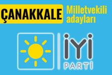 İyi Parti Çanakkale milletvekili adayları 2018 listesi