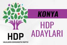 HDP Konya milletvekili adayları 27. dönem listesi